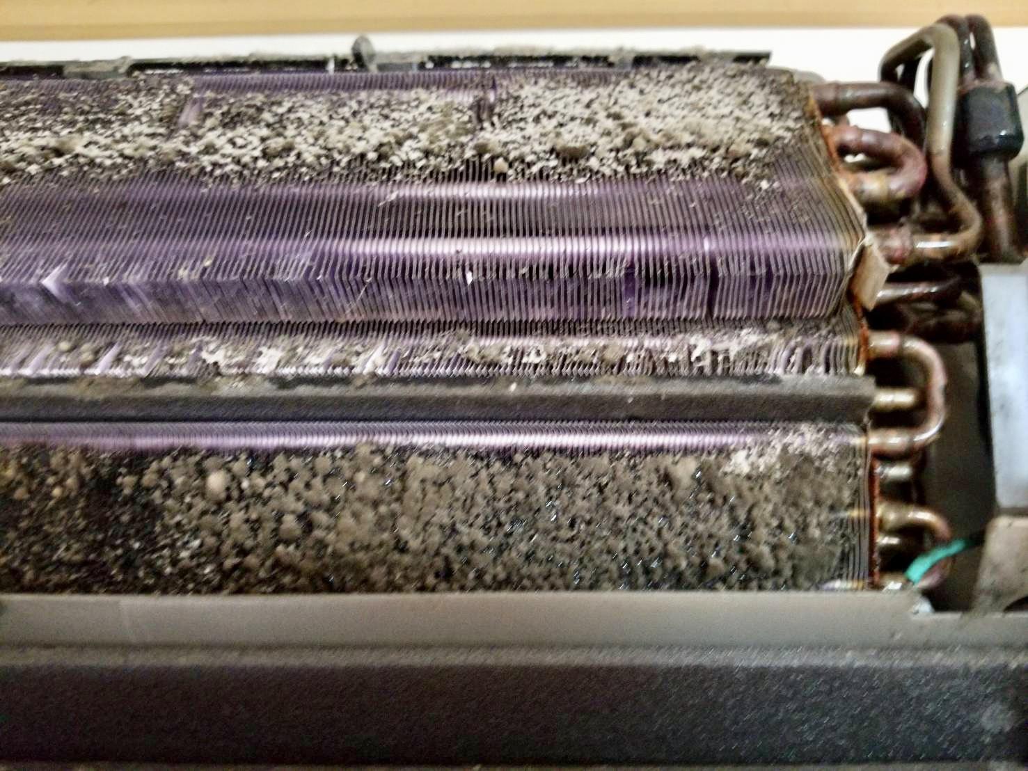 エアコン熱交換器before